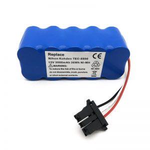 باتری 12 ولتی ni-mh برای جاروبرقی TEC-5500، TEC-5521، TEC-5531، TEC-7621، TEC-7631